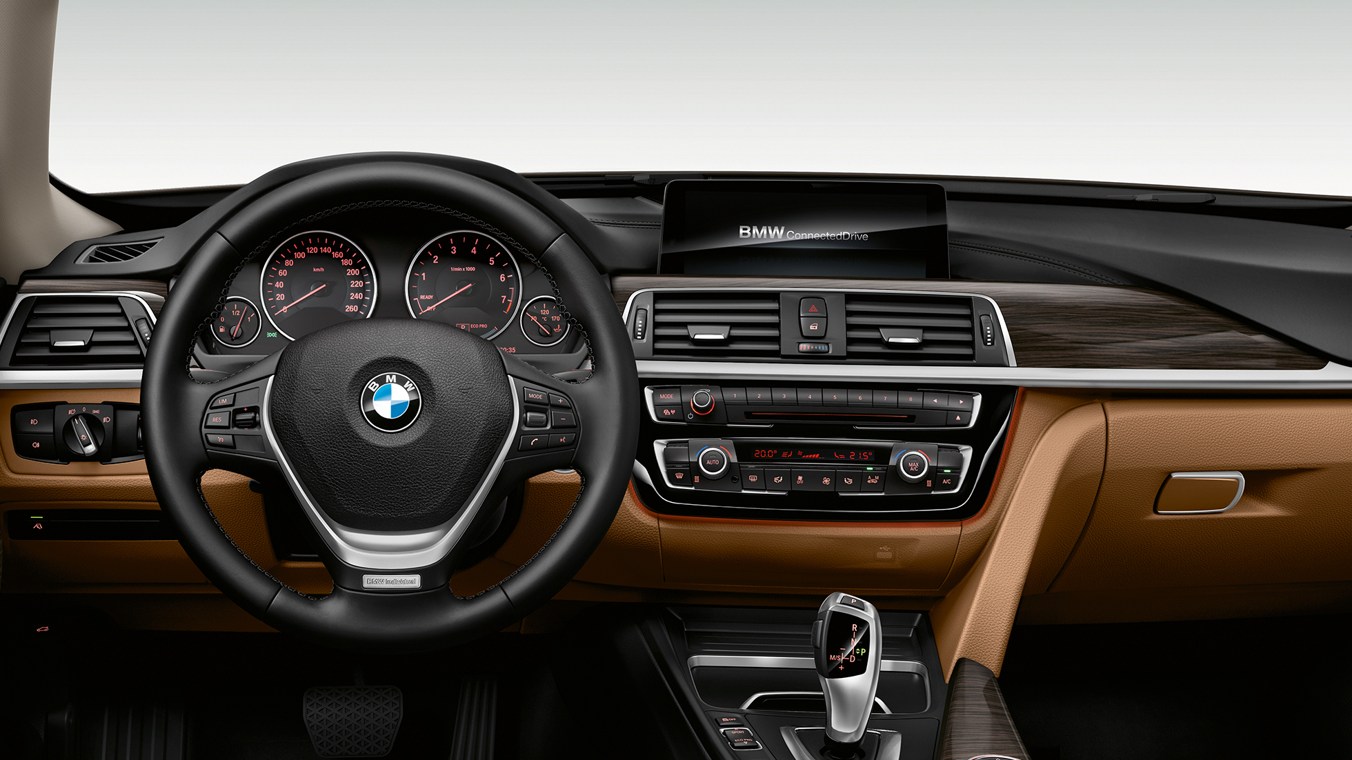 BMW 3 Series Gran Turismo, Model Luxury Line cockpit