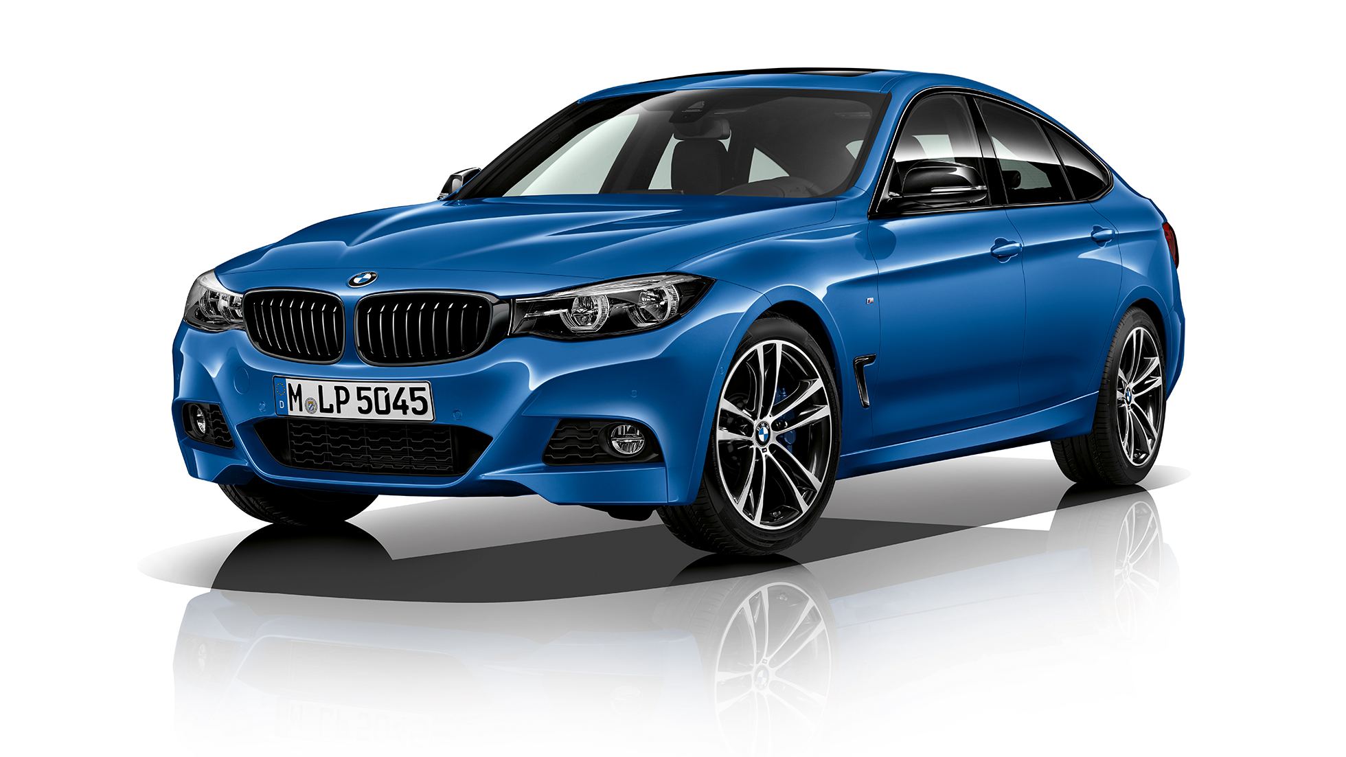 BMW 3 Series Gran Turismo, Model M Sport three-quarter front shot
