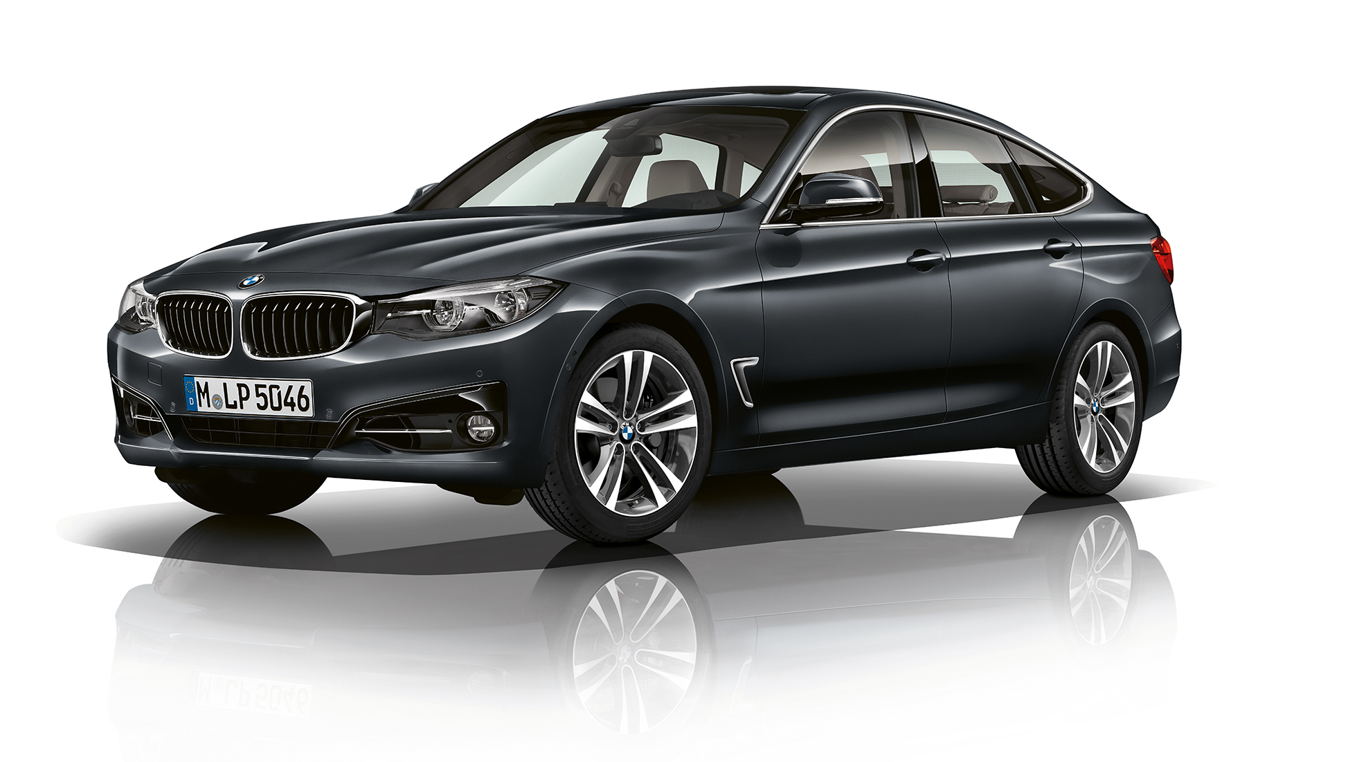 BMW 3 Series Gran Turismo, Model Sport Line three-quarter front shot