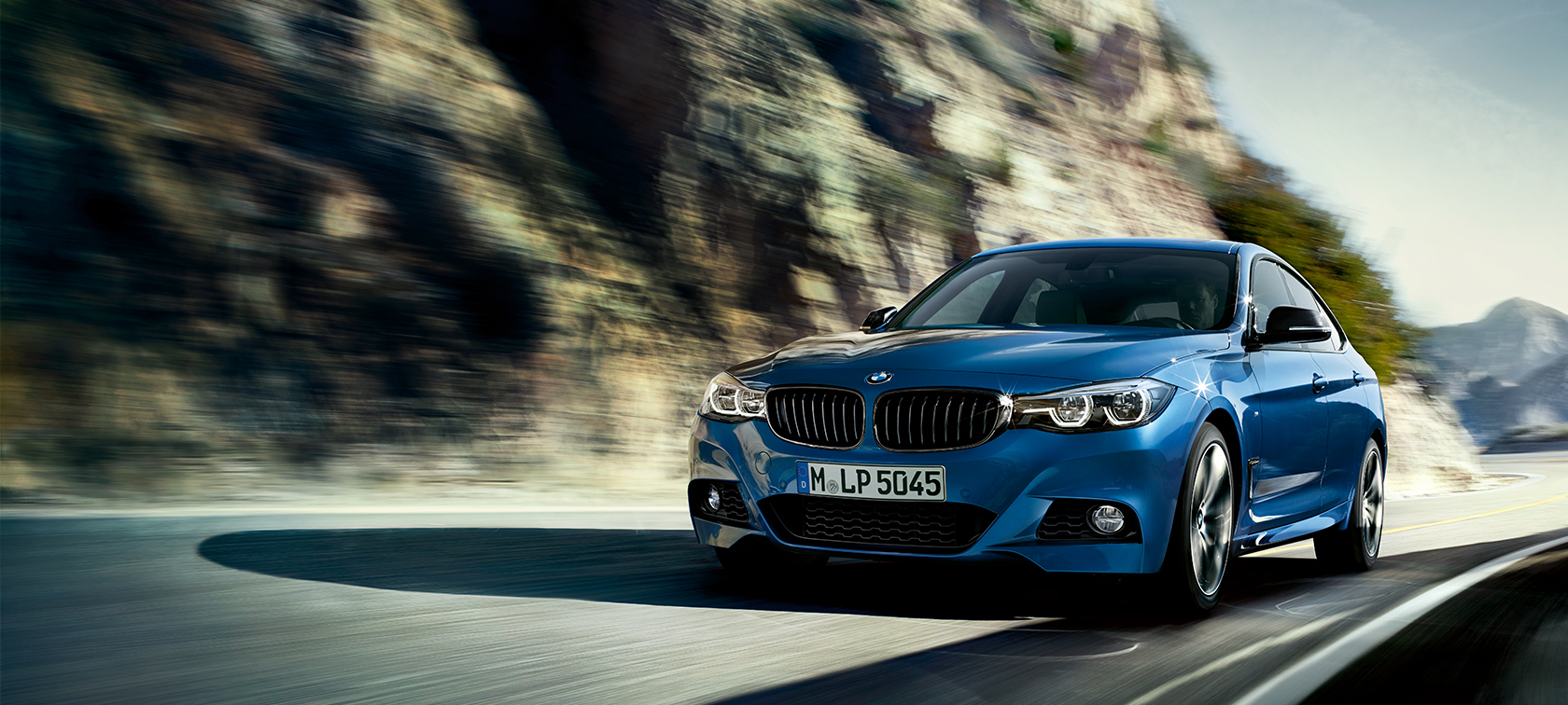 BMW 3 Series Gran Turismo, driving shot front view