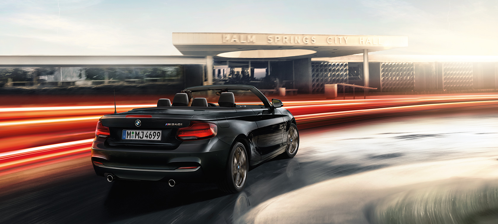 BMW M240i Convertible, technical data