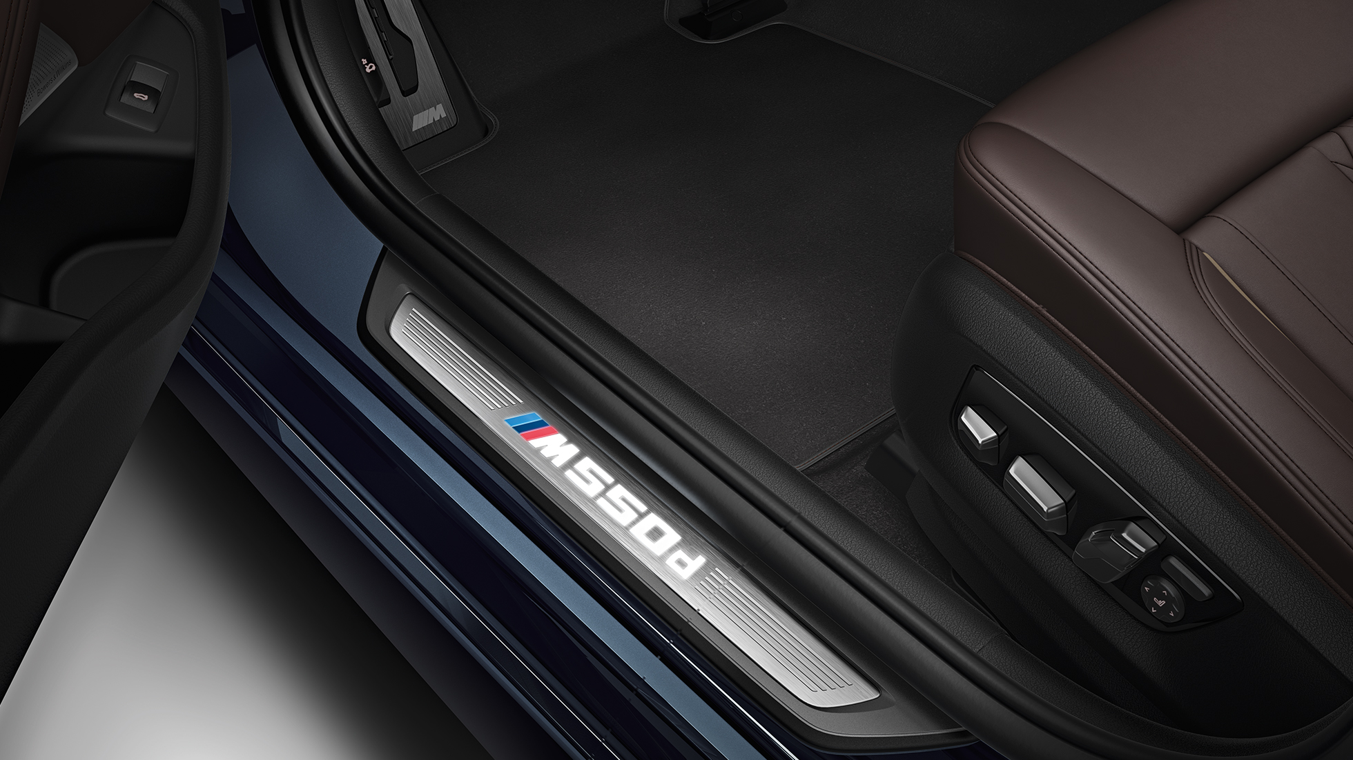 Doorsill finisher BMW M550d xDrive Touring G31 interior