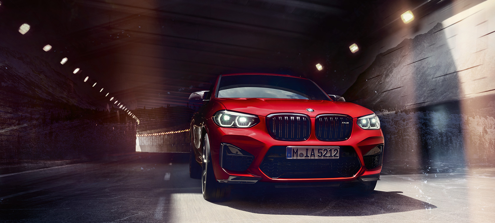BMW X4 M, technical data