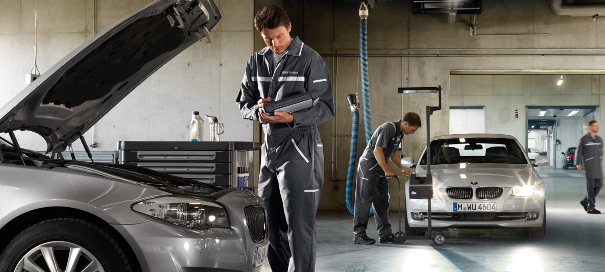 BMW Workshop Services : Vehicle Check & Maintenance